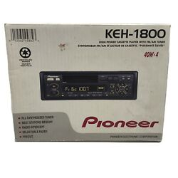 New Old Stock Pioneer Keh-1800 Super Tuner Iii Car Stereo Fm/am Cassette Unit