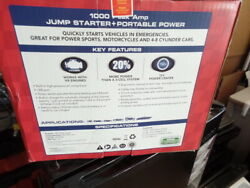 Brand New Sealed Duralast 1000 Amp Portable Battery Jump Starter With Compressor