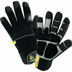 West Chester Menand039s Large Synthetic Leather Winter Work Glove 96650/l Pack Of 72