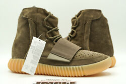 Adidas Yeezy Boost 750 New 110 Light Brown Gum Chocolate By2456 Kanye West