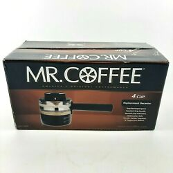 Mr. Coffee Decanter New, Decm8 4 Cup For Espresso Cappaccino Makers Fits Ecm21