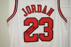 Chicago Bulls 23 ,michael Jordan Home Jersey 54 Xxl New With Tag Sewn Autographs