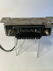 Used Vintage Hitachi Model Km-1821zf Am And Fm Car Radio Datsun Mid 70and039s Z Cars