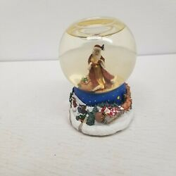Partylite Santa Claus Musical Snow Globe, We Wish You A Merry Christmas