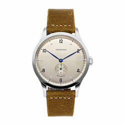 Longines Heritage 1945 Automatic 40mm Steel Menand039s Strap Watch L2.813.4.66.0