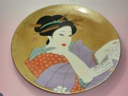 546 ≪free Shipping≫ Arita Porcelain Beauty Picture Scale Five-decorated Plate
