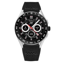 Tag Heuer Connected Steel Rubber 45mm Sbg8a10.bt6219 Watch