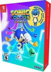 Sonic Colors Ultimate Launch Edition - Nintendo Switch Brand New