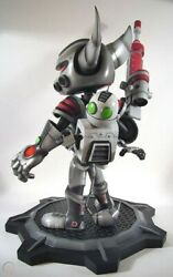 Insomniac Games Ratchet And Clank Carbonox Armor Sony Figure Statue Maquette Mib