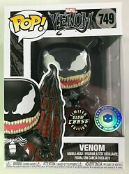 Funko Pop Marvel 749 Winged Venom Piab Pop In A Box Exclusive Glow Chase