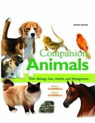 Companion Animals Their Biology, Care, Health, And Management H