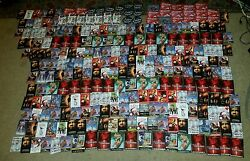 Lot 264 Movie Dvd Promo Pins Buttons Pinback Disney Xmen Large And Rounds Vintage