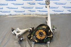 2014 Audi R8 V8 Quattro Awd 4.2l Oem Rh Passenger Front Spindle And Arms 1339