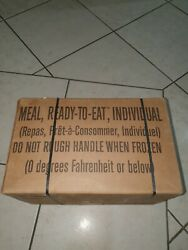 Free Post Ration Pack. Genuine Us Military Mre Army Survival Food Camping Hiking