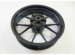 Racing Bike Front And Rear Wheel Rim Black Fit For Ktm Rc 390 Model 2013 To 2016