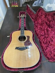 Taylor 810 Series Acoustic/electric Guitar With Original Hard Case