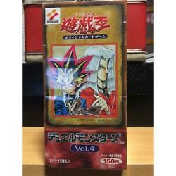 Yugioh Yu-gi-oh Phase 1 Vol.4 Box Duel Monsters Card Game 30 Packs Unopened