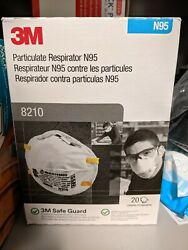 3m 8210 N95 Particulate Respirator Mask 80 Masks 4 Boxes Of 20 Usa Made