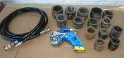 Hytorc 3mxt Hydraulic Torque Wrench 480-3,230 Ft. Lbs Industrial Tool Torcup