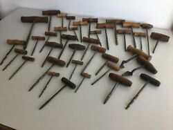 Collection Of 37 Gimlet Tools