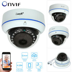 Hd 4mp Poe Dome Ip Camera Support Motion Detection Night Vision Forcctv Security