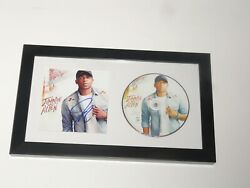 Jimmie Allen Signed Framed Mercury Lane Cd Country Star Proof