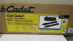 Cub Cadet 42 In. Mulching Kit With Blades For Lawn Tractors And Zero Turn Mowers