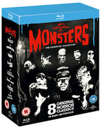 Universal Monsters - The Essential Movie Collection 8 Film [uk] New Bluray