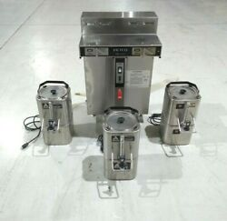 Fetco CBS 52H15 1.5 Gallon Twin Commercial Coffee Brewer 120 208 240VAC 3 Phase