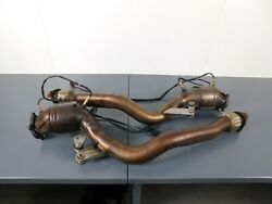 2010 09 10 11 Bentley Continental Supersports Exhaust Downpipes 4047 J1