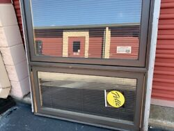 Pella Window Replacement Brown Retractable Blinds Large H48.5 X W35.5 X 4.0