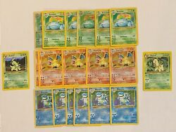 1st Edition Old Pokemon Cards Lot 100% Vintage ONLY WOTC $15.95