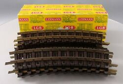 Lgb 1100 G Scale Curved Track Sections 12/box