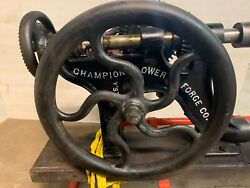 Champion Blower And Forge Co Post Drill Press Restored