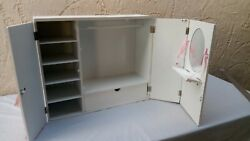 Our Generation American Girl Wooden Armoire Closet Wardrobe Vanity For 18 Dolls