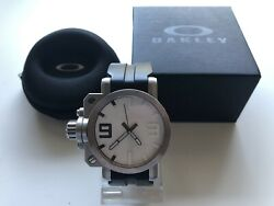 Gearbox Swiss Watch White Dial Hard To Find Discontinued Read Description