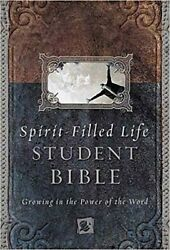 Spirit-filled Life Bible For Students Growing In The Power Of The Word