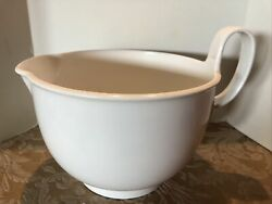 3 1/2 Qt Weighted Dansk Gourmet Designs Mixing Batter Bowl W/ Spout And Handle