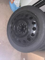 New 2007-2021 Lincoln Mkz / Ford Edge Compact Spare Tire Donut T165/80d17 Oem