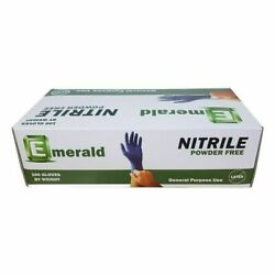 Emerald 3.5 Mil Blue Nitrile Exam Gloves Powder/latex-free All Quantity And Sizes