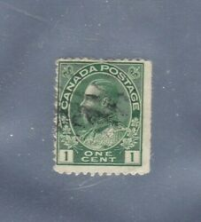 6 Vintage Antique Used Canada Stamps Excellent Condition, Free Shipping