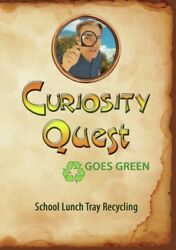 Curiosity Quest Goes Green School Lunch Tray Recycling,new Dvd, ,