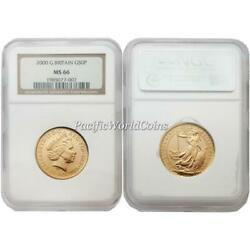 Great Britain 2000 Britannia 50 Pounds Gold Coin Ngc Ms66 Sku 1768