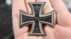 Wwi German Army Iron Cross First 1st Class Medal