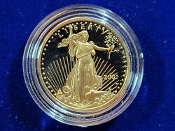 🌟2001-w 25 Proof Gold American Eagle 1/2 Oz Ultra Cameo Coin