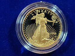 🌟1994-w 25 Proof Gold American Eagle 1/2 Oz Ultra Cameo Coin