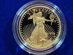 🌟1996-w 25 Proof Gold American Eagle 1/2 Oz Ultra Cameo Coin