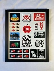 Space Invader Kit Stickers Signed - Limited Edition