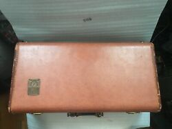 Vintage Martin Committee Trumpet Rare Red 1940s Case Only 2 Rare Sold Separate
