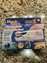 Handy Stitch Mini Portable Cordless Hand-held Sewing Machine Battery Operated